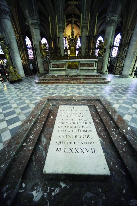 3533-Caen Abbaye aux Hommes Tombeau Guillaume(c)Stéphane MAURICE SOCORPRESSE-(c) Stéphane Maurice _SOCORPRESSE.jpg