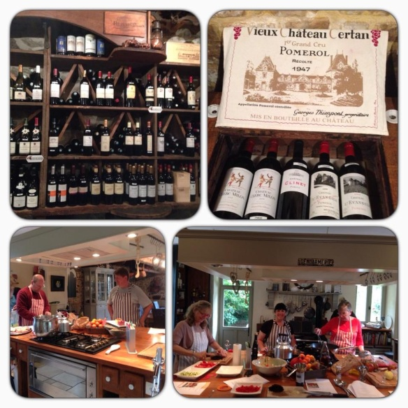 wine and cooking classes