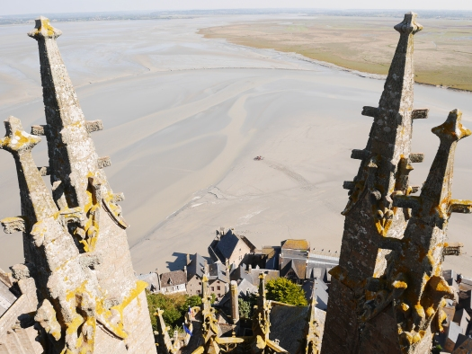 6955-Looking over the Bay of the Mont-Saint-Michel (c) D. Dumas - Normandy Tourist Board