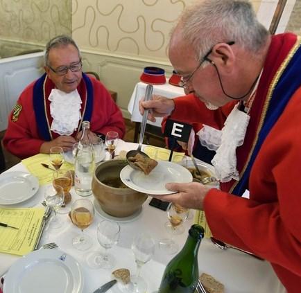 Judging the Tripière d'Or © Confrèrie de Gastronomie Normande