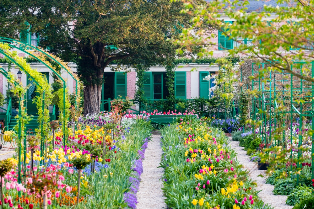 Giverny, jardins de Monet.